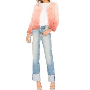 MOTHER Jeans NWT Duster Cuff Fray ✨